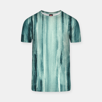 Thumbnail image of Teal Watercolor Dream #1 #painting #decor #art  T-Shirt, Live Heroes