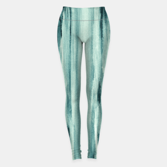 Miniaturka Teal Watercolor Dream #1 #painting #decor #art  Leggings, Live Heroes