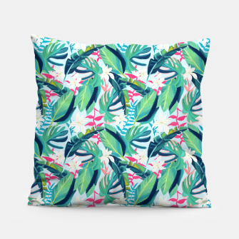 Thumbnail image of Tropical Eye Candy Pillow, Live Heroes