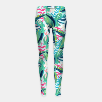 Miniatur Tropical Eye Candy Girl's leggings, Live Heroes
