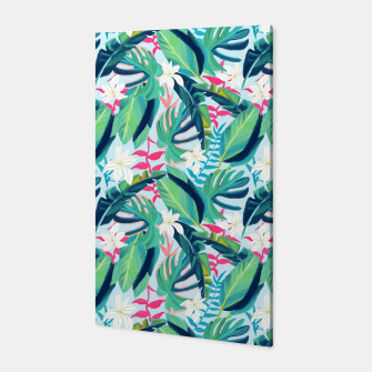 Miniatur Tropical Eye Candy Canvas, Live Heroes