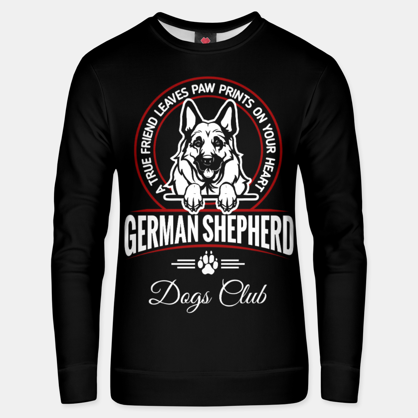 Image of German Shepherd the Best One Unisex sweater - Live Heroes
