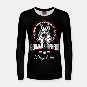 German Shepherd the Best One Women sweater thumbnail image