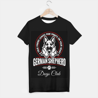 German Shepherd the Best One T-shirt regular thumbnail image