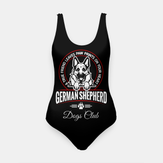 German Shepherd the Best One Swimsuit thumbnail image