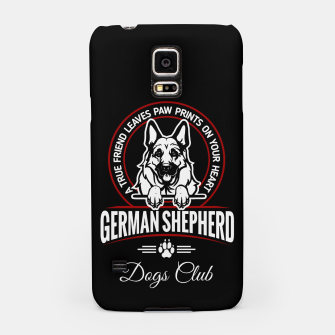 German Shepherd the Best One Samsung Case thumbnail image