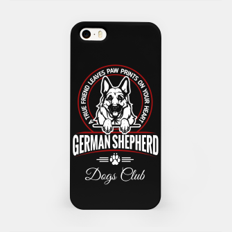 German Shepherd the Best One iPhone Case thumbnail image