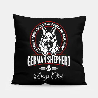 German Shepherd the Best One Pillow thumbnail image