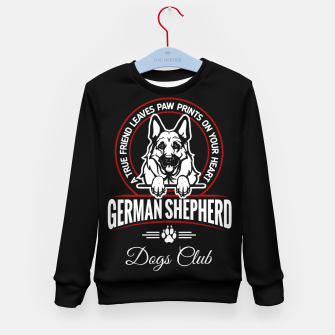 German Shepherd the Best One Kid's sweater thumbnail image