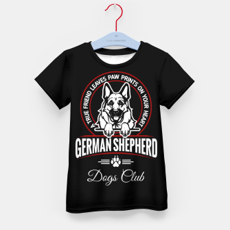 German Shepherd the Best One Kid's t-shirt thumbnail image