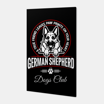 German Shepherd the Best One Canvas thumbnail image