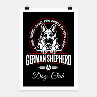 German Shepherd the Best One Poster thumbnail image
