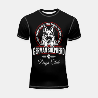 German Shepherd the Best One Shortsleeve rashguard thumbnail image