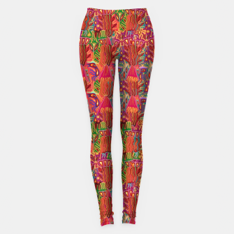 Thumbnail image of Red ethnic Leggings, Live Heroes