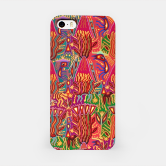 Thumbnail image of Red ethnic iPhone Case, Live Heroes