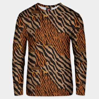 Thumbnail image of  Tribal texture Unisex sweater, Live Heroes