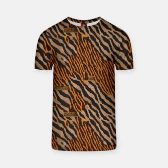Thumbnail image of  Tribal texture T-shirt, Live Heroes