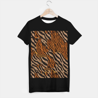 Thumbnail image of  Tribal texture T-shirt regular, Live Heroes