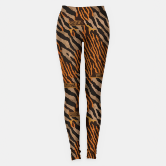 Thumbnail image of  Tribal texture Leggings, Live Heroes