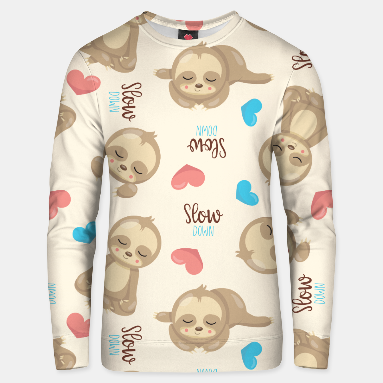 Image of Cute Sloth Unisex sweater - Live Heroes