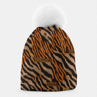 Thumbnail image of  Tribal texture Beanie, Live Heroes