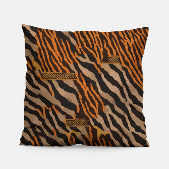 Thumbnail image of  Tribal texture Pillow, Live Heroes
