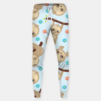 Cute Sloth With Branch Sweatpants thumbnail image