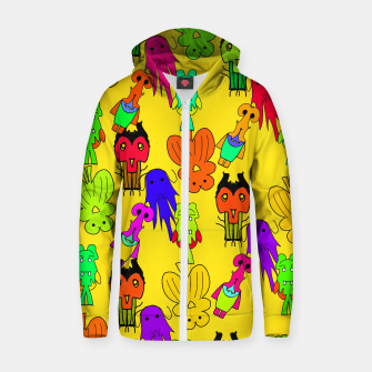 Thumbnail image of Yellow Clown Hoodie, Live Heroes