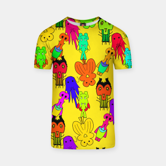 Thumbnail image of Yellow Clown Tshirt, Live Heroes