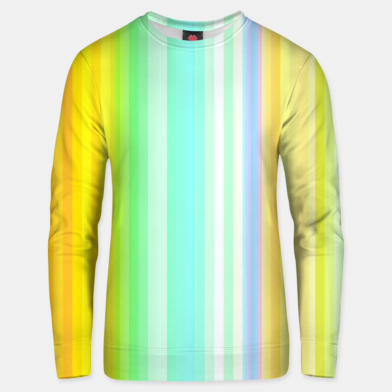 Image of Bright Yellow Line Sweater - Live Heroes