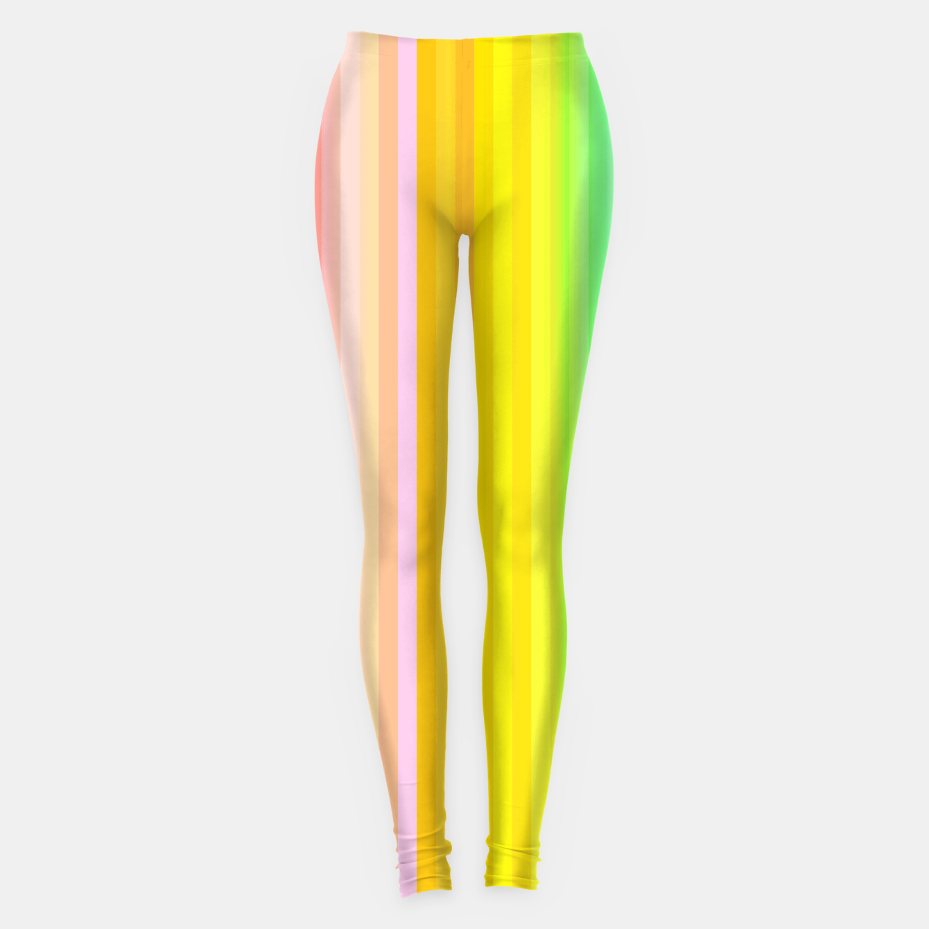 Image of Bright Yellow Line legging - Live Heroes