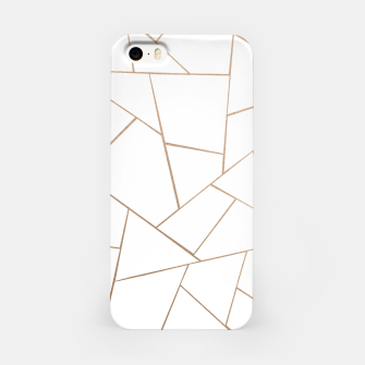 Thumbnail image of Rose Gold White Geometric Glam #1 #geo #decor #art  iPhone-Hülle, Live Heroes