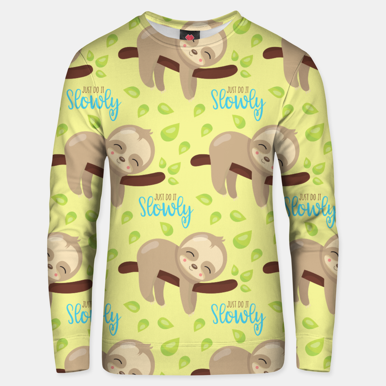 Image of Cute Sloth Do It Slowly Unisex sweater - Live Heroes