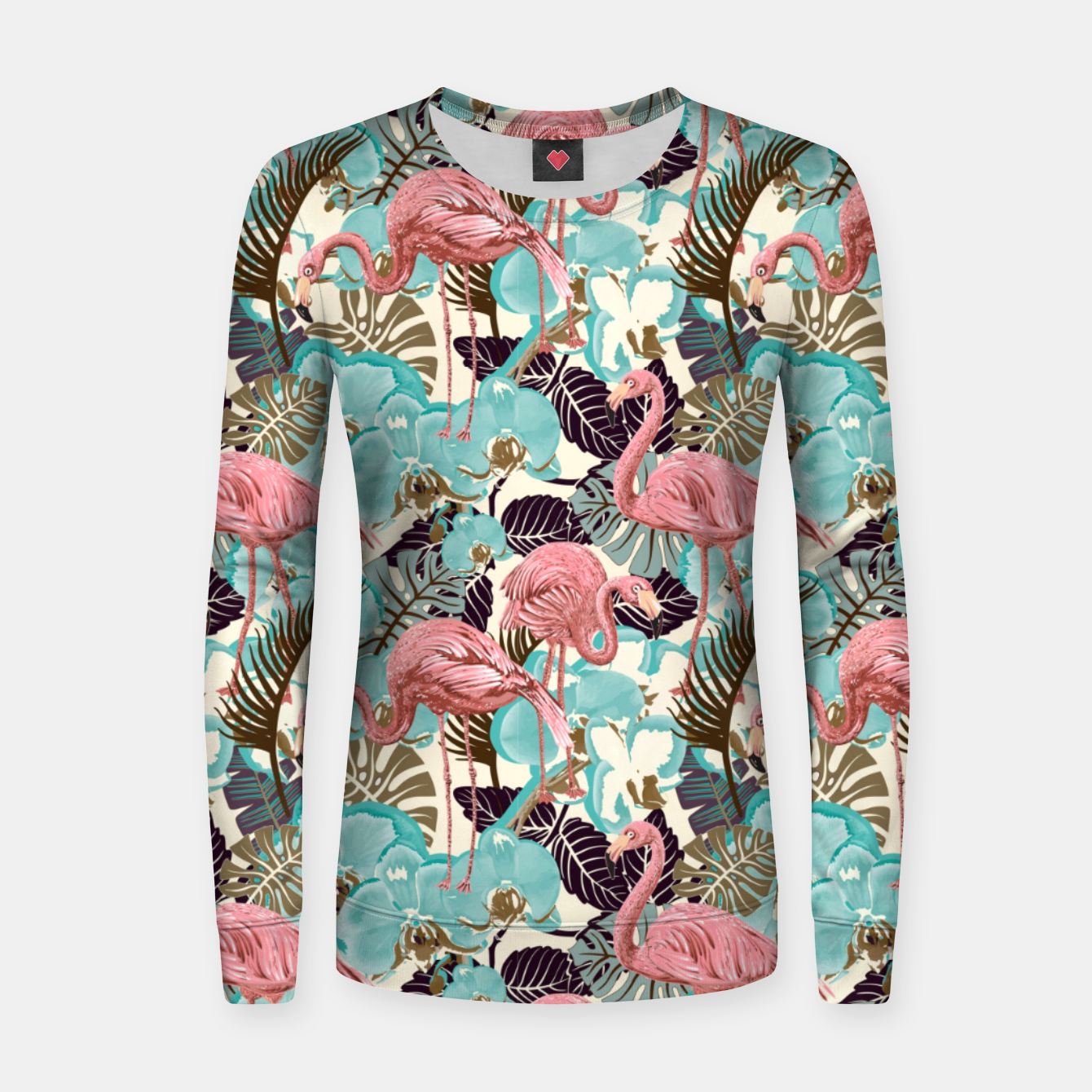 Image de Pink Flamingos Women sweater - Live Heroes
