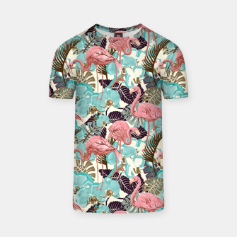 Thumbnail image of Pink Flamingos T-shirt, Live Heroes
