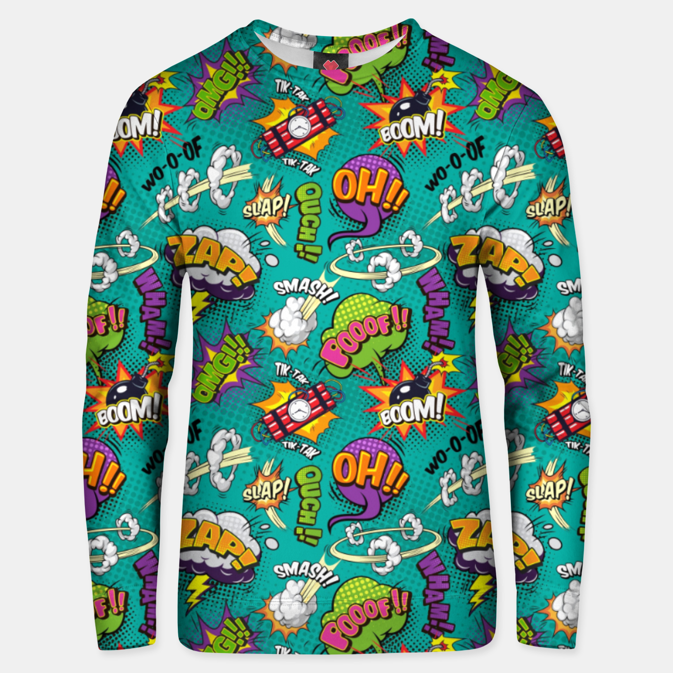 Image of OMG Comics 7 Unisex sweater - Live Heroes