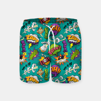 Thumbnail image of OMG Comics 7 Swim Shorts, Live Heroes