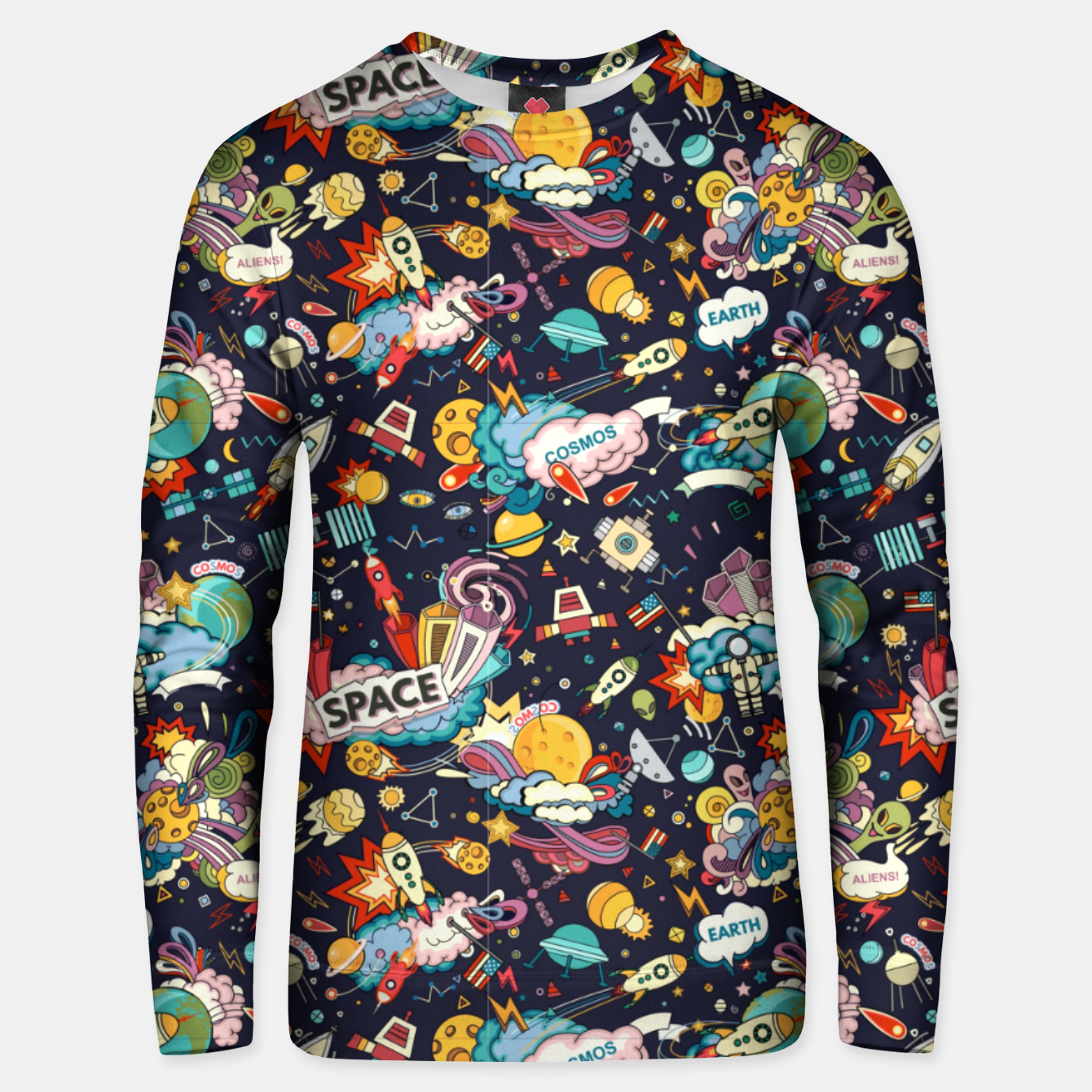 Image of Cosmos Unisex sweater - Live Heroes