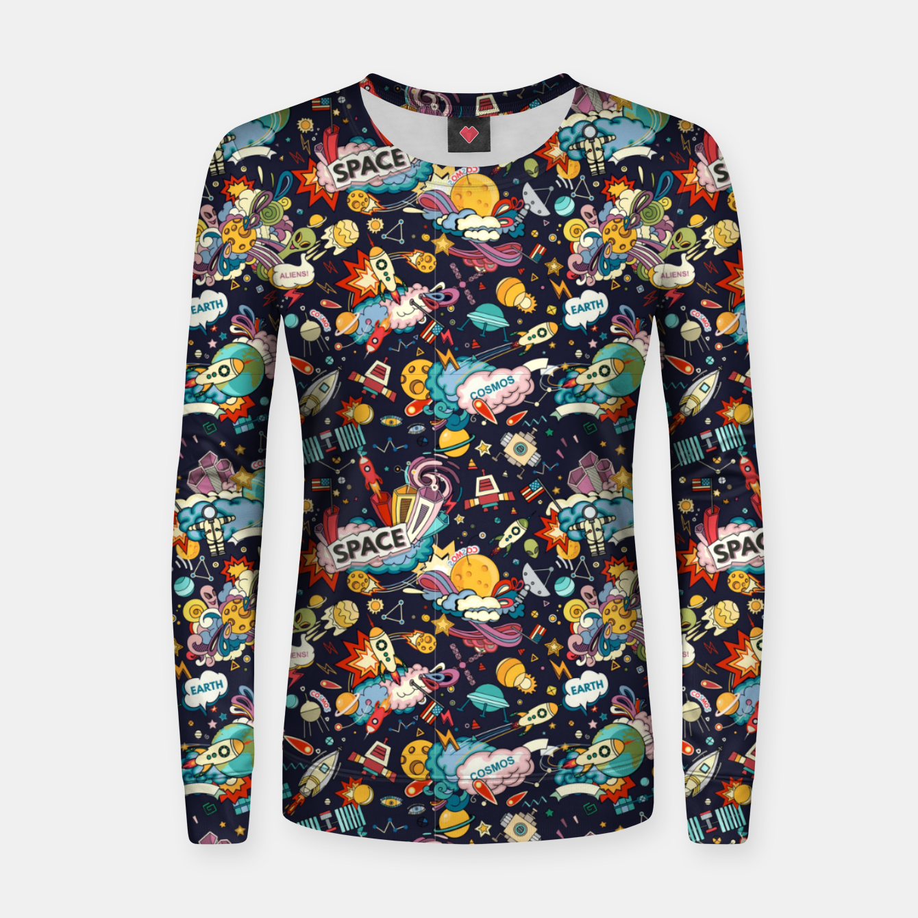 Image of Cosmos Women sweater - Live Heroes