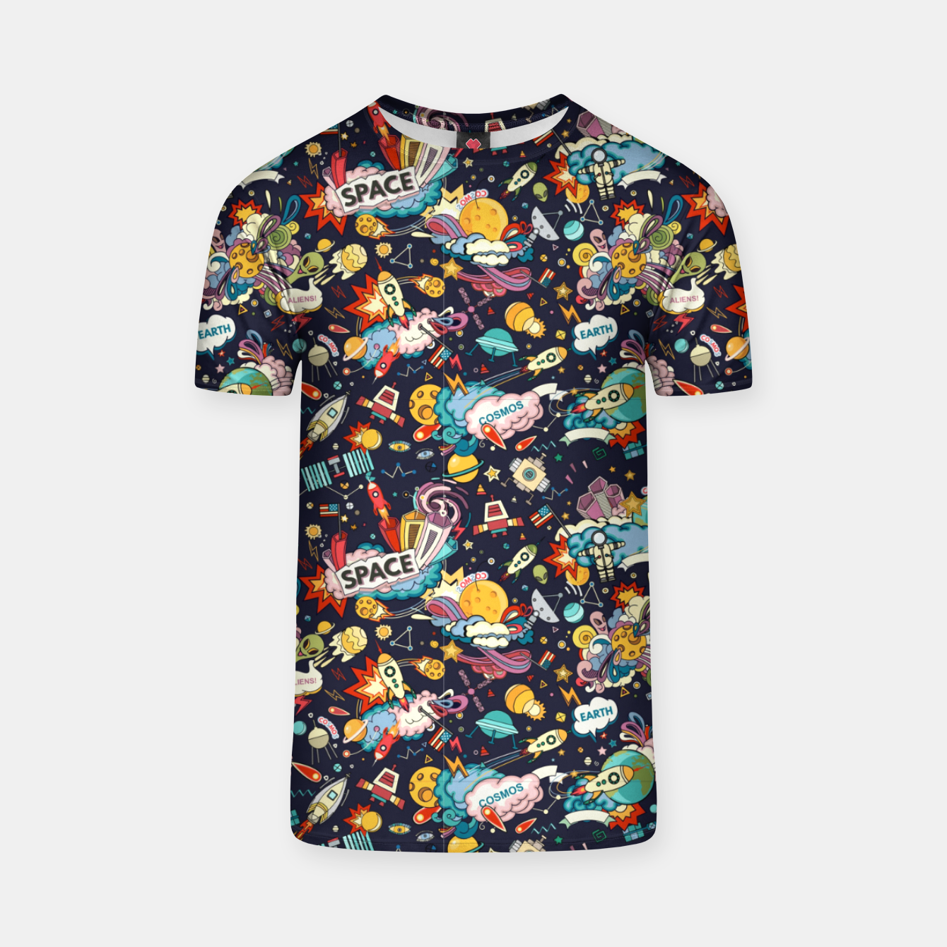 Image of Cosmos T-shirt - Live Heroes
