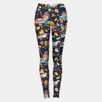 Thumbnail image of Cosmos Leggings, Live Heroes