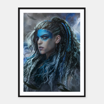 Thumbnail image of Yasha Framed poster, Live Heroes