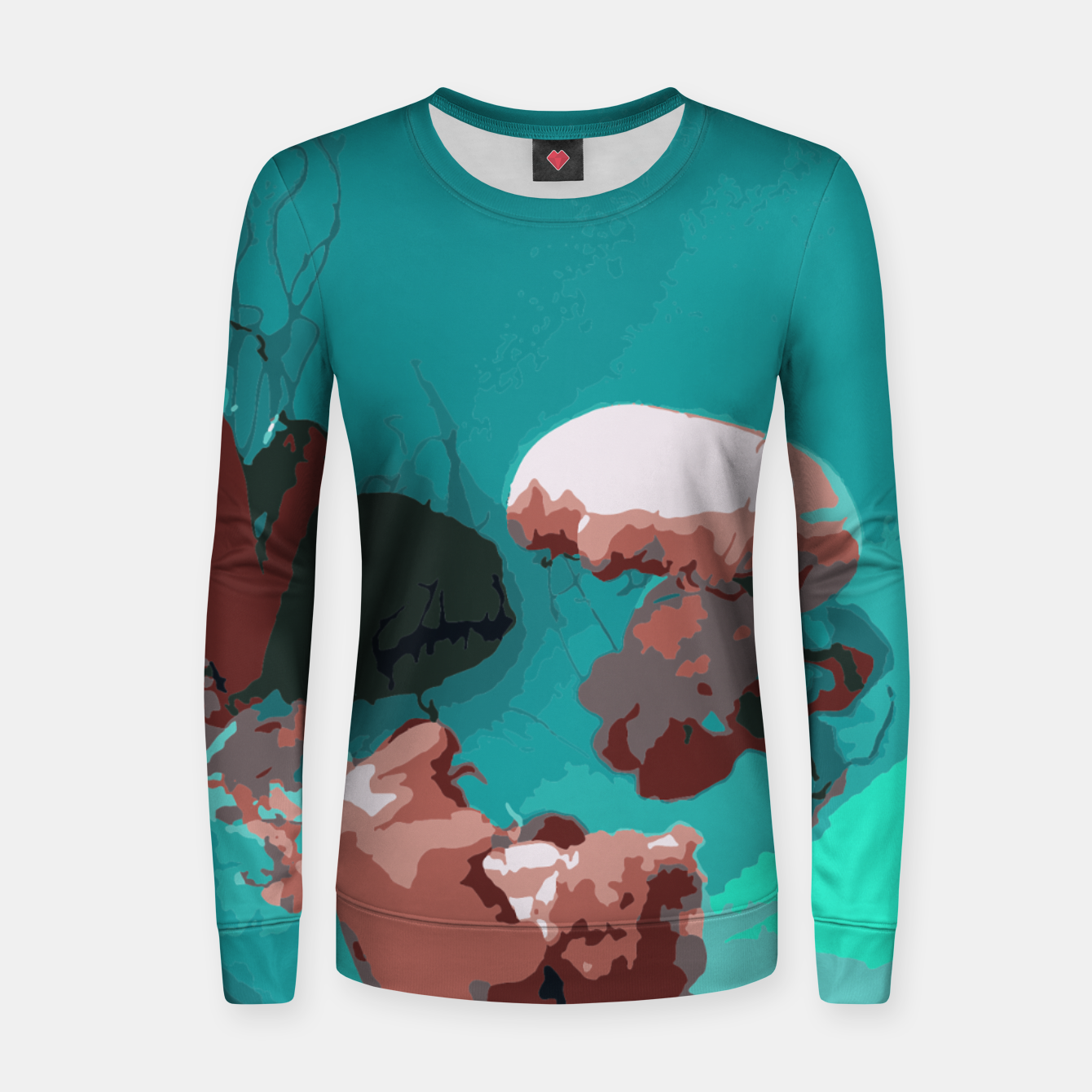Image of Underwater clouds Women sweater - Live Heroes
