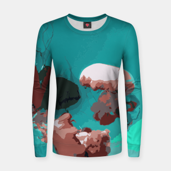 Thumbnail image of Underwater clouds Women sweater, Live Heroes