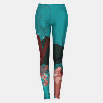 Thumbnail image of Underwater clouds Leggings, Live Heroes