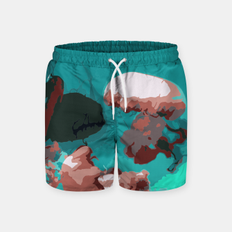 Underwater clouds Swim Shorts thumbnail image