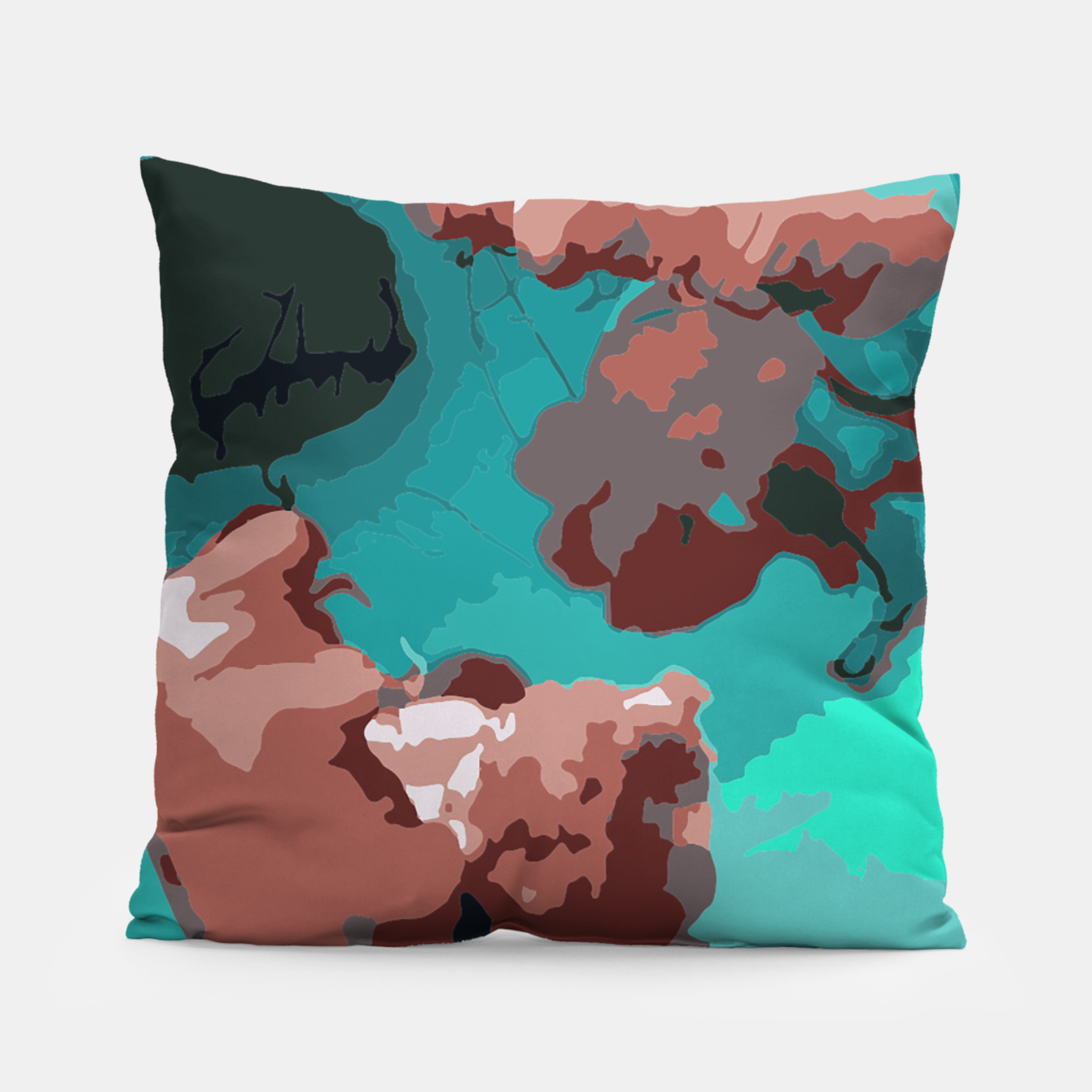 Image of Underwater clouds Pillow - Live Heroes
