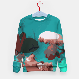 Thumbnail image of Underwater clouds Kid's sweater, Live Heroes