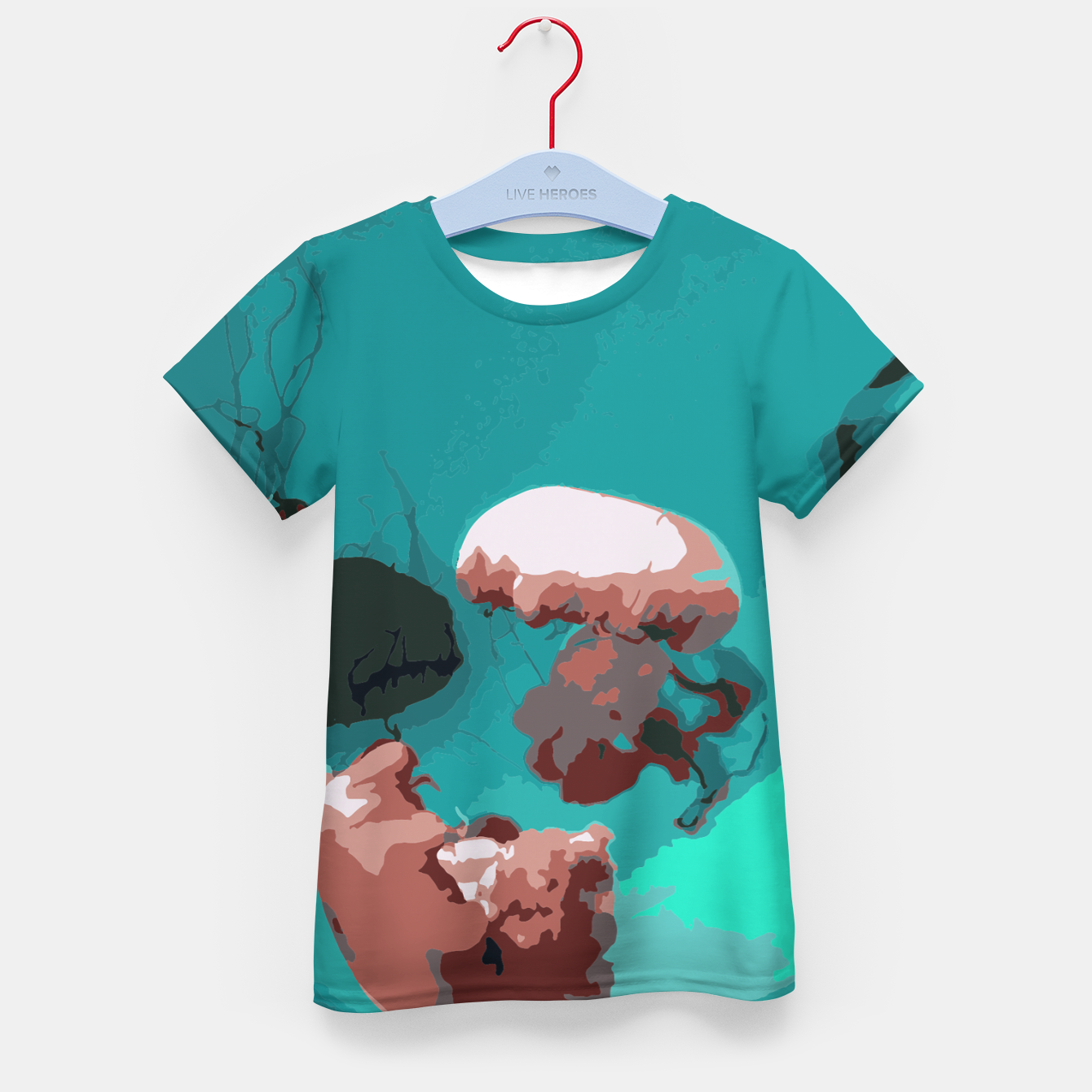 Image of Underwater clouds Kid's t-shirt - Live Heroes