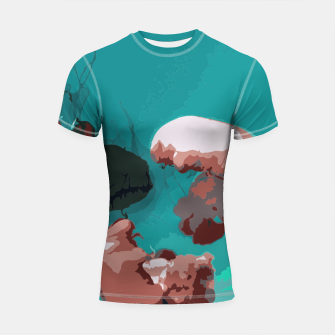 Thumbnail image of Underwater clouds Shortsleeve rashguard, Live Heroes